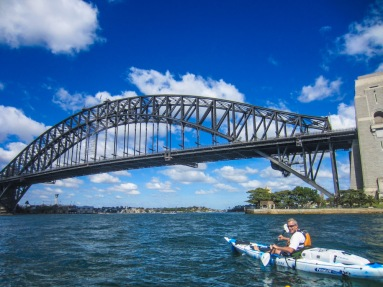 Kayaking Sydney Harbour Dec 2013-10