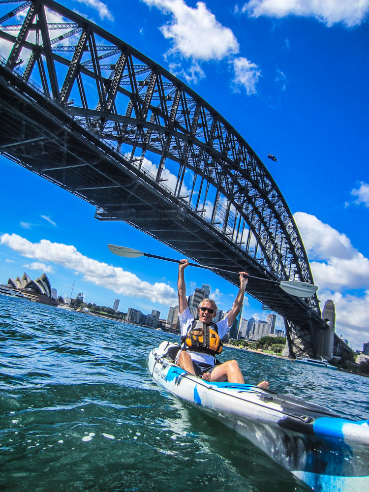 Kayaking Sydney Harbour Dec 2013-11