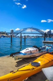 Kayaking Sydney Harbour Dec 2013-13