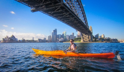 Kayaking Sydney Harbour Dec 2013-5