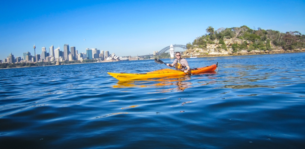 Kayaking Sydney Harbour Dec 2013-6