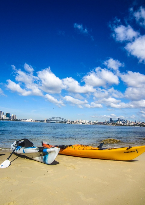 Kayaking Sydney Harbour Dec 2013-7
