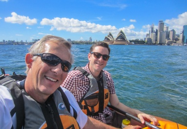 Kayaking Sydney Harbour Dec 2013-9