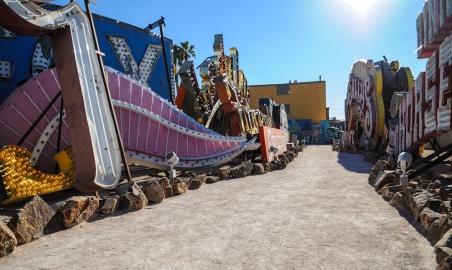 Neon Museum - Las Vegas NV - Jan 14_-2