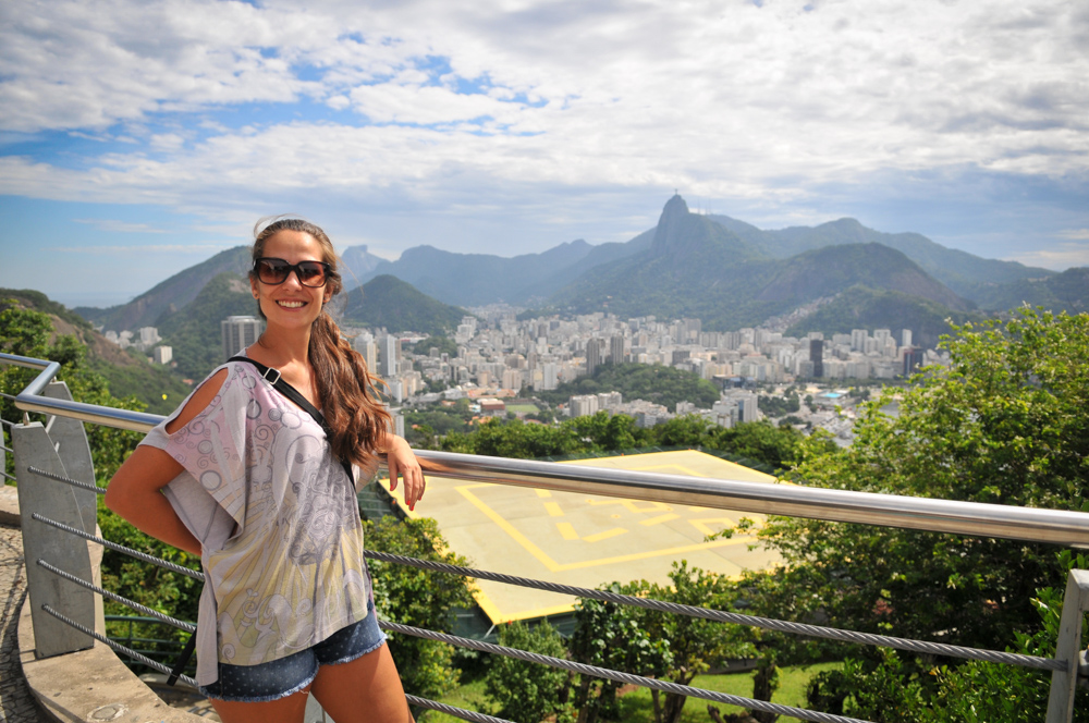 Cristina and Christ the Redeemer